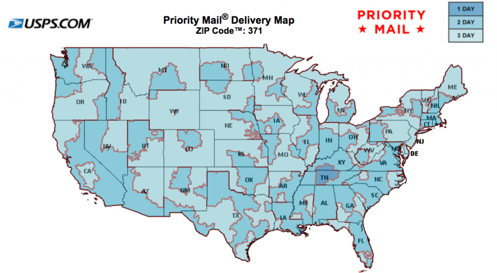 USPS Priority Mail Shipping Time